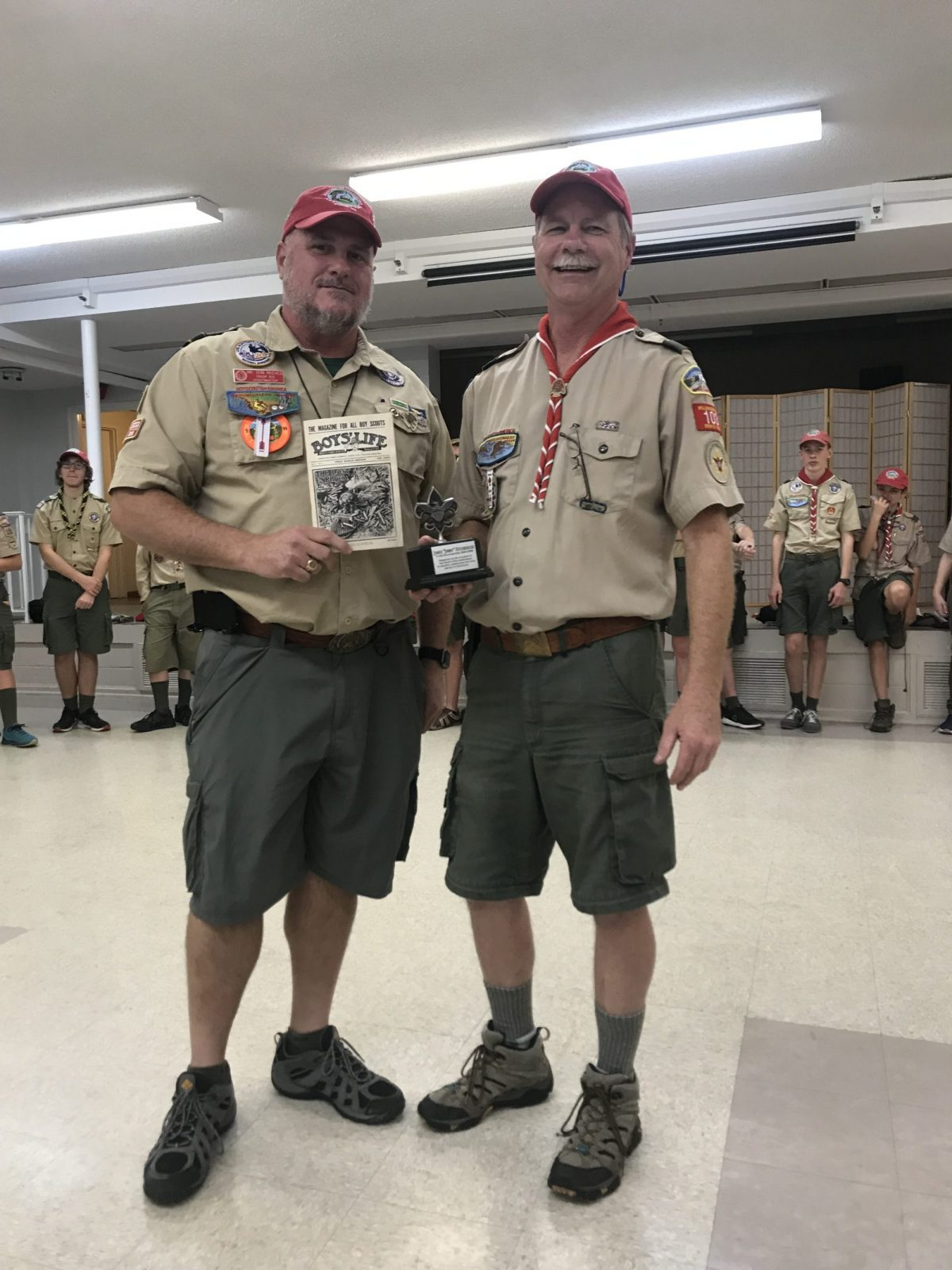 Recognition of Former Scoutmasters of Troop 103