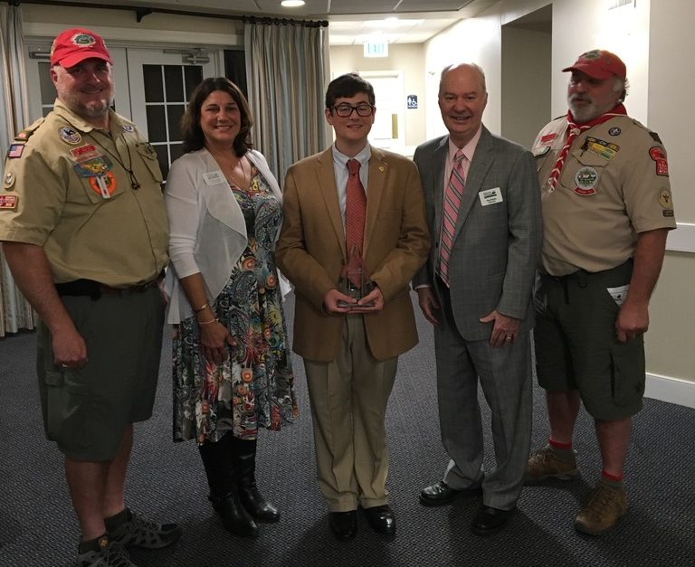 Troop 103 Eagle Scout Recognized by HVLC