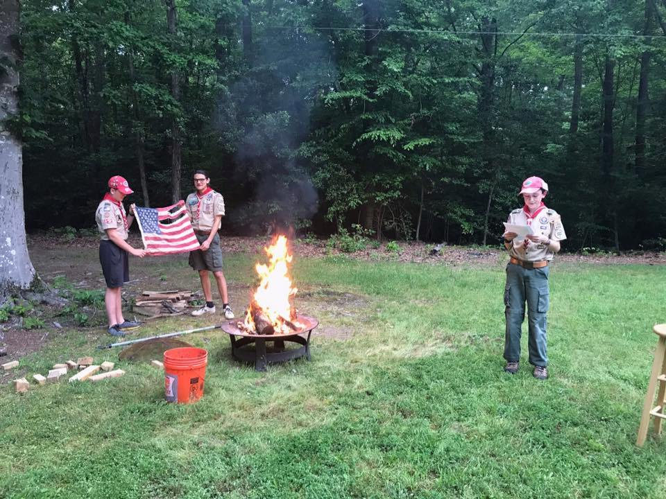 Troop 103 Conducts Virtual Campfire Program