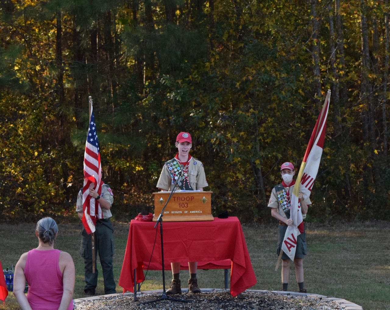Troop 103 End Of Year Court Of Honor 2020