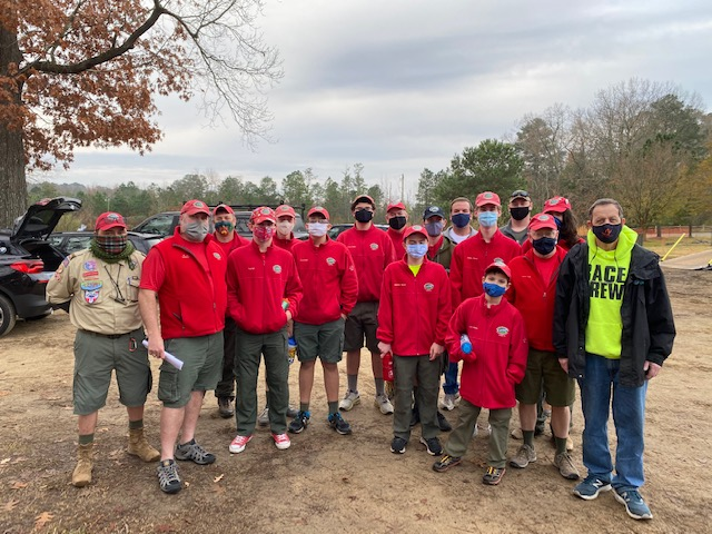 Troop 103 Supports Annual Sleighbell 5K again in 2020