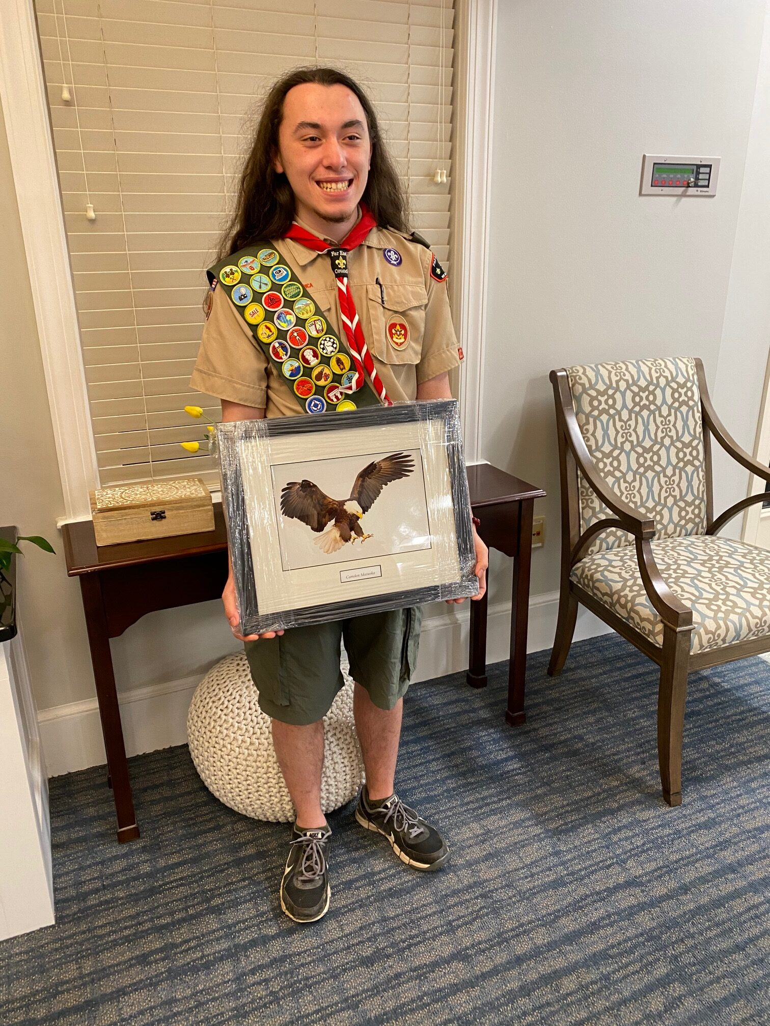 Our 1st Eagle Scout of 2021