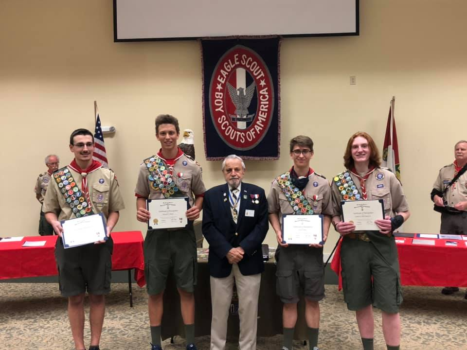 First Eagle Scout Court of Honor since Covid started!!!